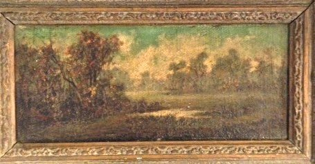 American Landscape Oil Painting, Friedlander