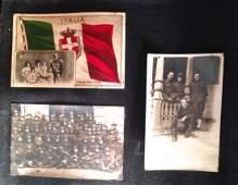 European Postcard Album Views  Military  200