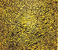 """LA II (Angel Ortiz) Graffiti Painting: """"LAROC"""""""