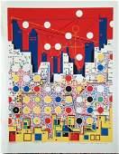 Risaburo Kimura, (Japanese 1924)  CITY  369