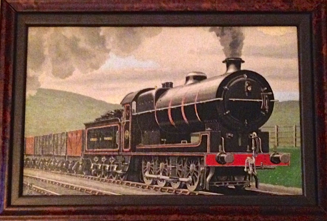 Hugh Murton Le Fleming, Original Locomotive Painting