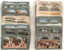 Stereoviews: Travel, War, Nautical, People (125 )
