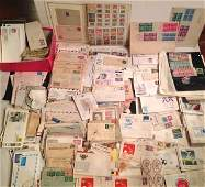Estate Collection of Stamps And Early Postage