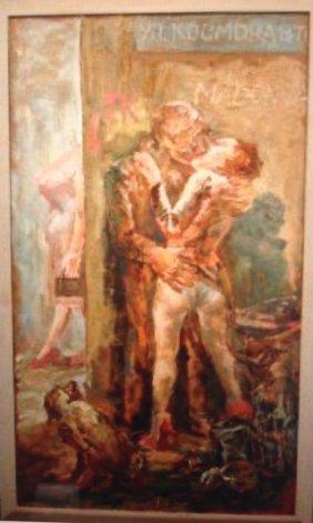 Vladimir Titov, Russian Nonconformist Art Painting