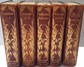 Washington Irving Limited Edition Signed Books