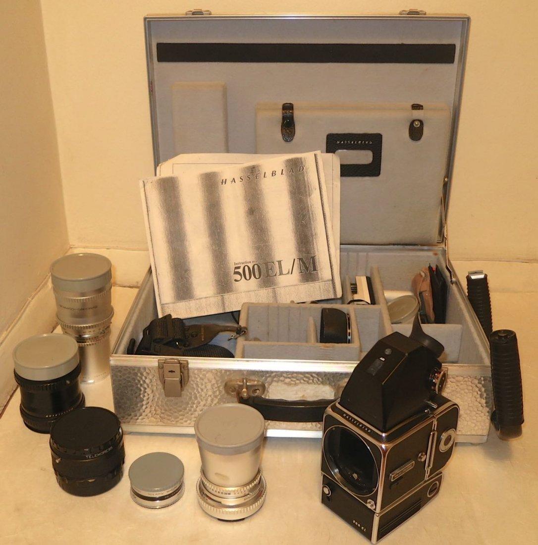Hasselblad  500 EL Camera With Lenses & Case