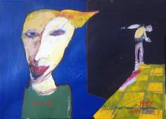 American Modernist Outsider Painting Whitney