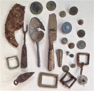 Revolutionary War - Battlefield Artifacts C.1770's