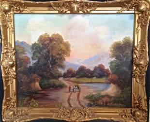 Elizabeth Mowry, American Landscape Oil Painting