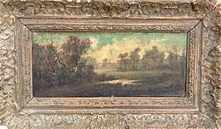 Continental Landscape Painting, Friedlander 1890's