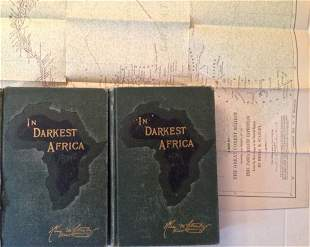 Henry M. Stanley, In Darkest Africa, 1890, 2 Volumes
