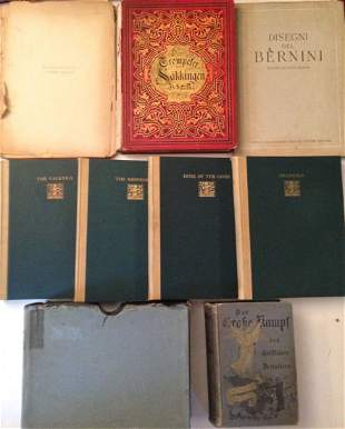 Antiquarian Collection of Books and Art Portfolios (8)