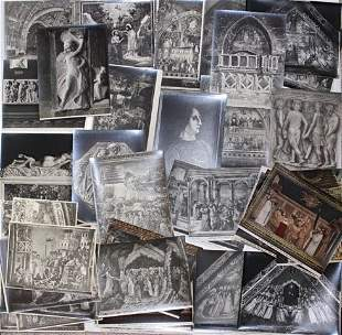 Large Collection of Italian Albumen Prints (50) 19th c.