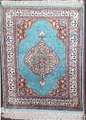 Persian Silk Prayer Rug