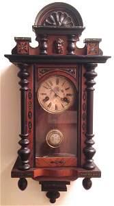 German Pfeilkreuz (Arrow Cross) Wall Clock, 1900's