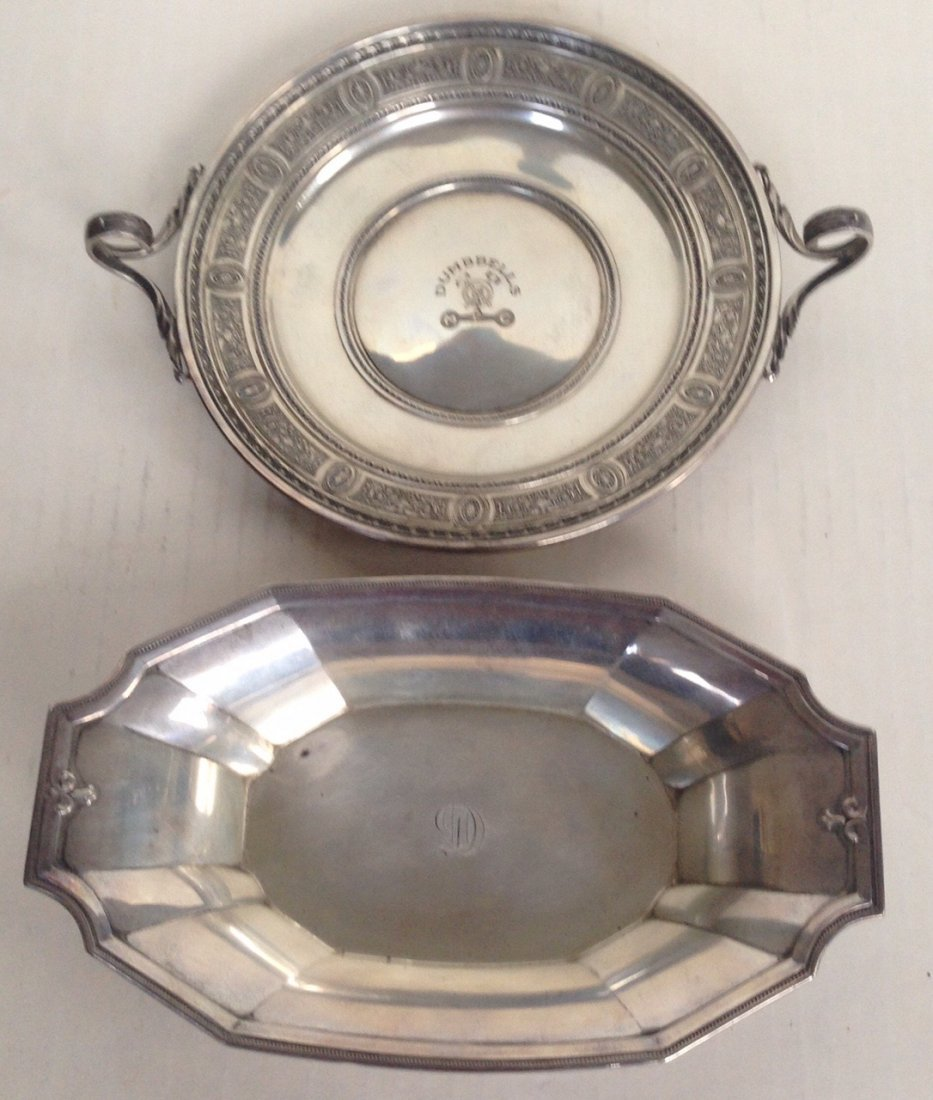 Two Sterling Silver Dishes, Gorham & Wedgewood