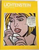 Roy Lichtenstein HandSigned Book