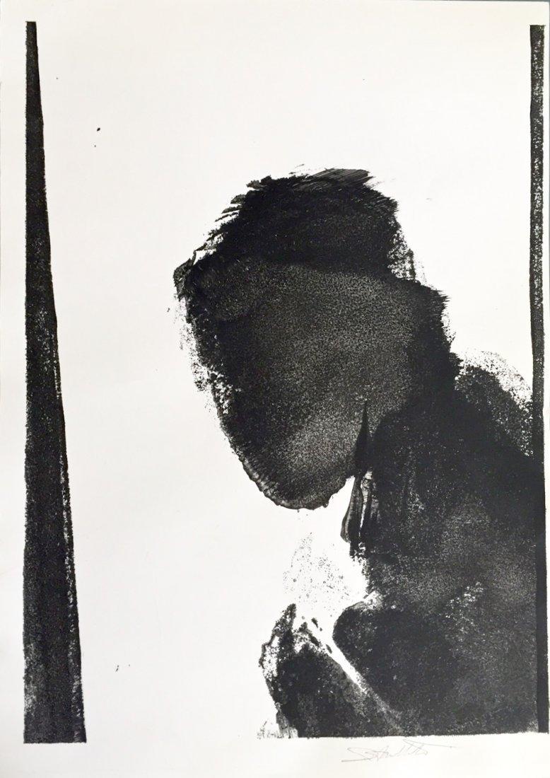 Richard Hambleton , Shadow Man Painting