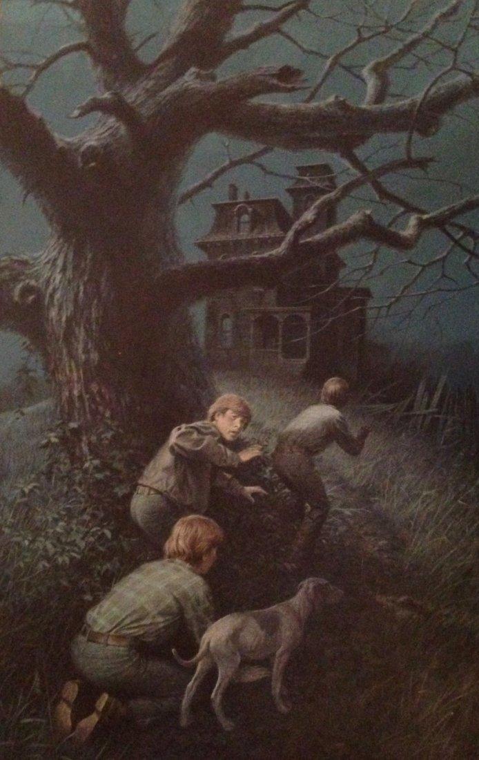 "Pulp Mystery Cover Art, ""Three Investigators"", Kane"