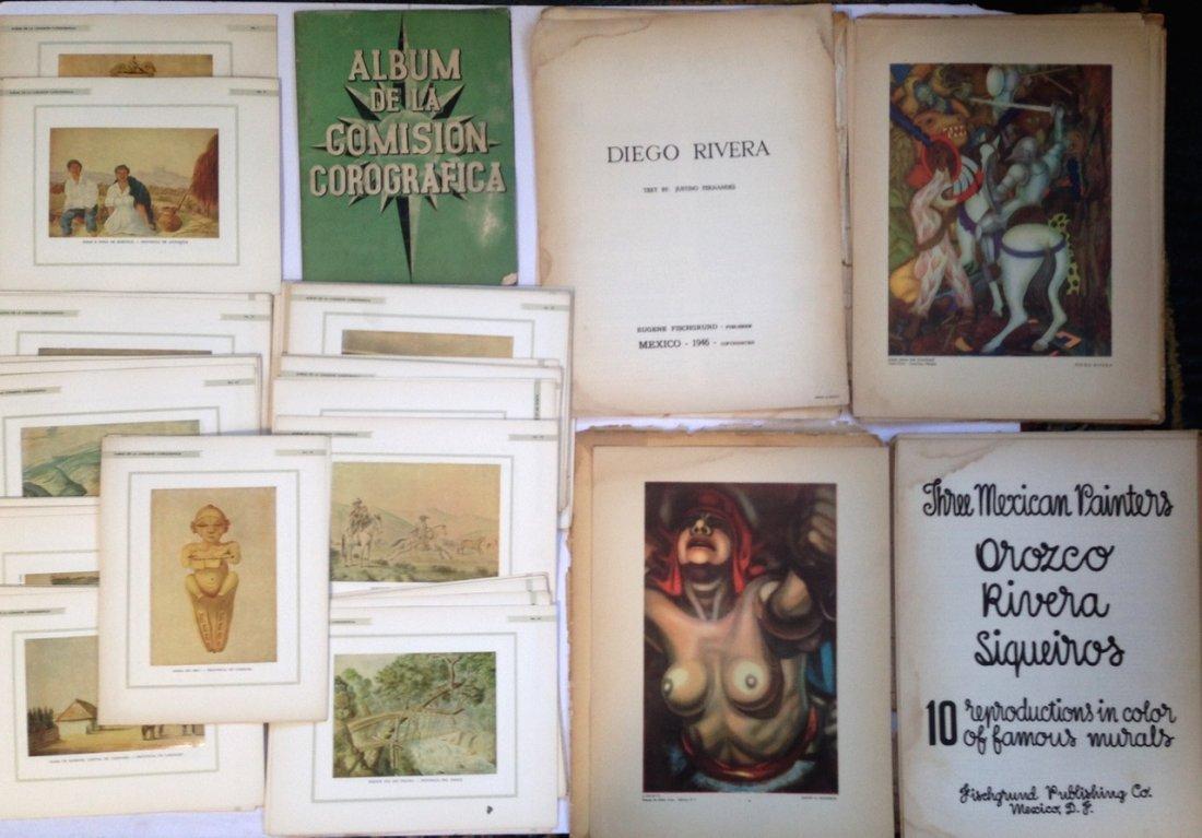 Art Portfolios: Rivera, Sigueiros, Orozco & Corografica
