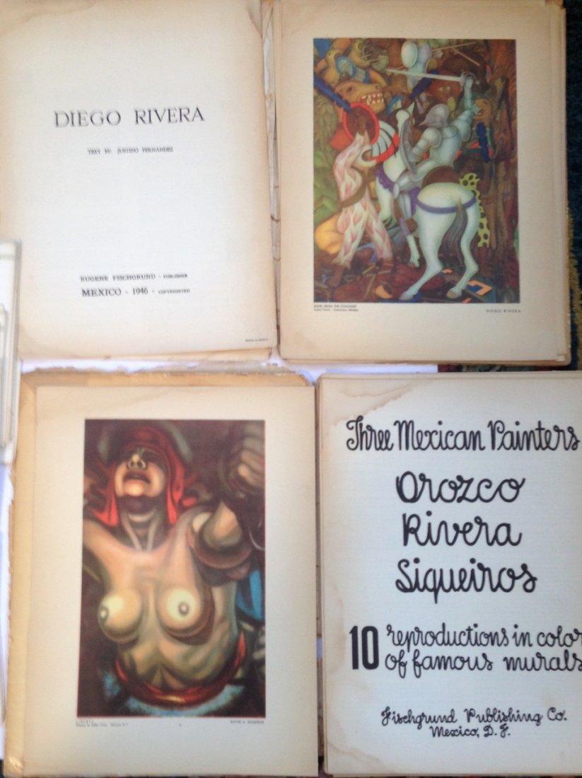 Art Portfolios: Rivera, Sigueiros, Orozco & Corografica - 3
