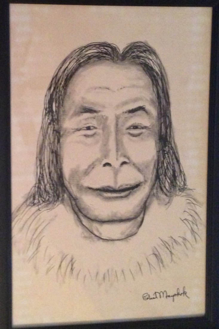 Three Alaskan Paintings, Robert Mayokok - 2