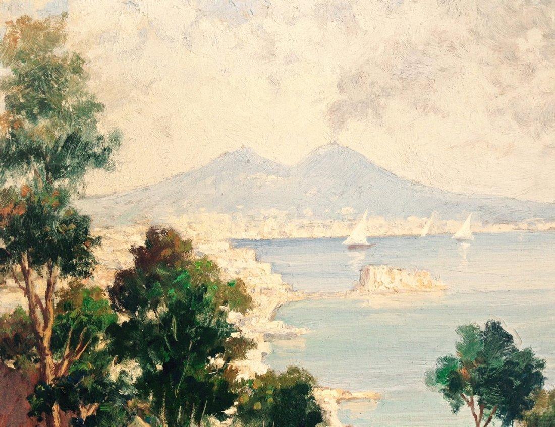 19th Century Italian Landscape Painting, Rosati - 3