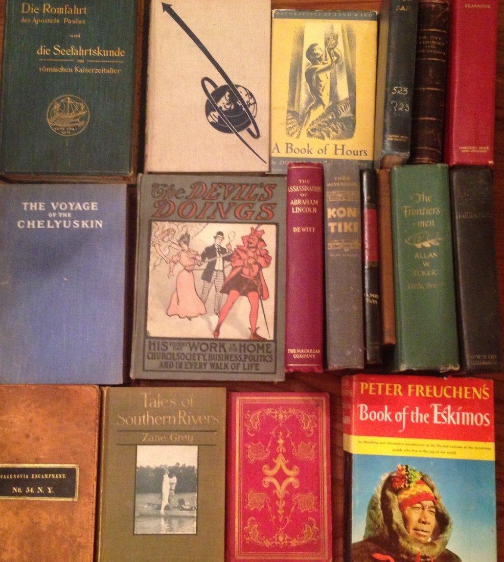 Antiquarian Estate Book Collection (18 ) - 2