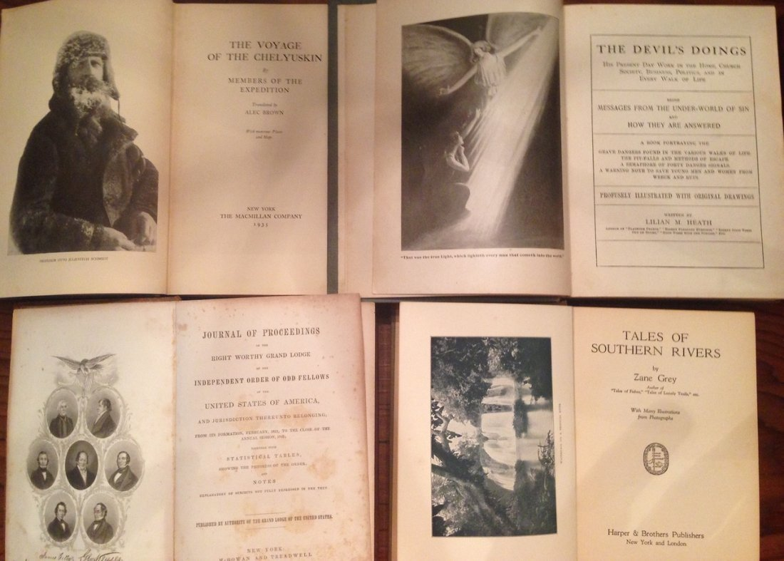 Antiquarian Estate Book Collection (18 ) - 5