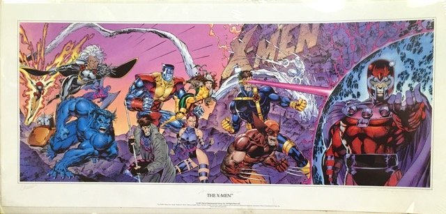 X-Men Panorama Limited Edition , Jim Lee