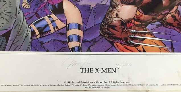 X-Men Panorama Limited Edition , Jim Lee - 2