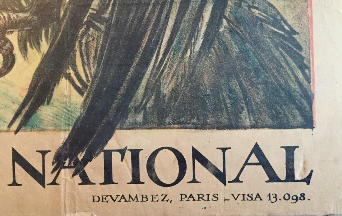 Jules-Abel Faivre Ww1 Propaganda Poster 1918 - 2