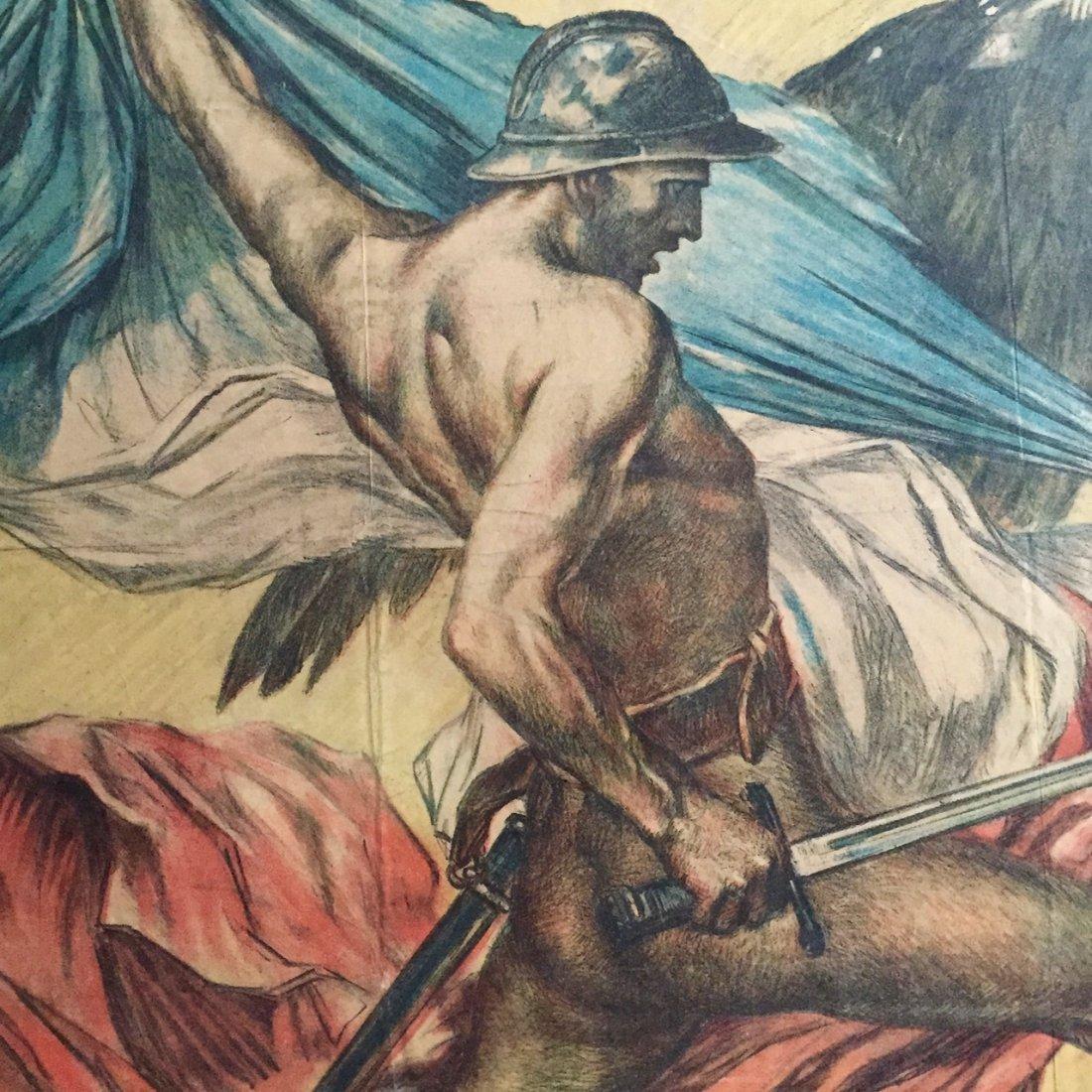 Jules-Abel Faivre Ww1 Propaganda Poster 1918 - 4