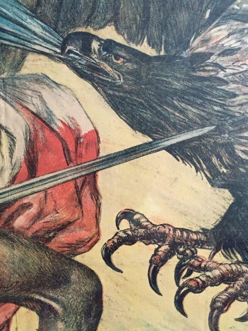 Jules-Abel Faivre Ww1 Propaganda Poster 1918 - 5