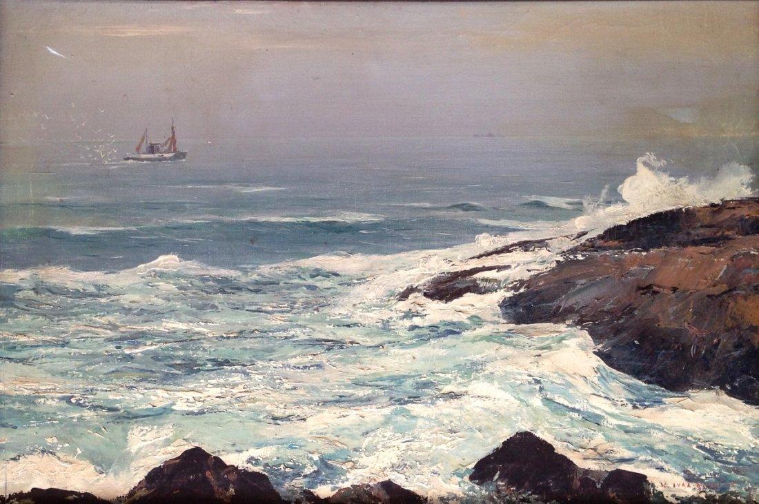 Carl Ivar Gilbert (American, b.1882-1958) Maine Coast - 2