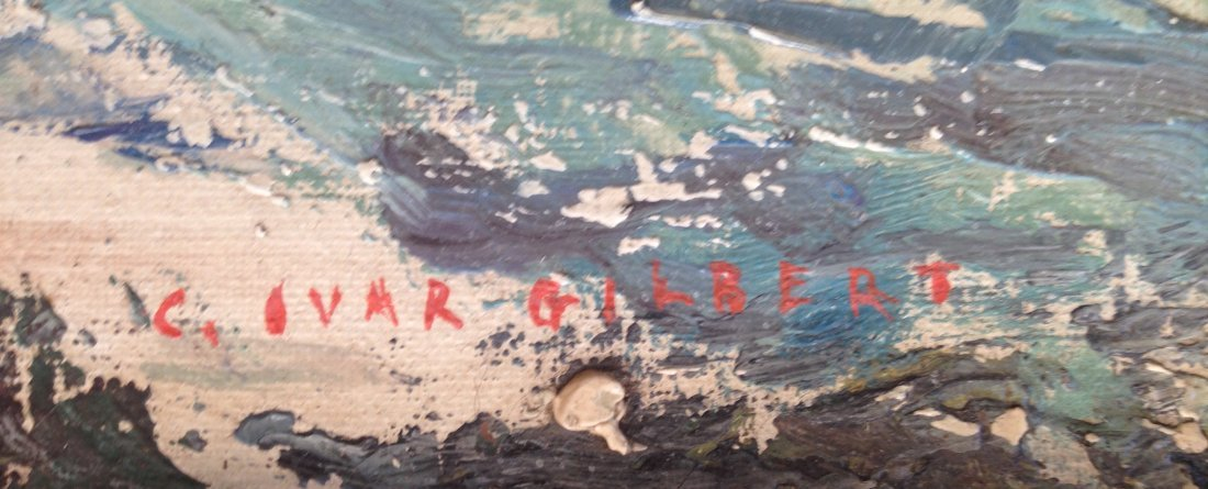 Carl Ivar Gilbert (American, b.1882-1958) Maine Coast - 3