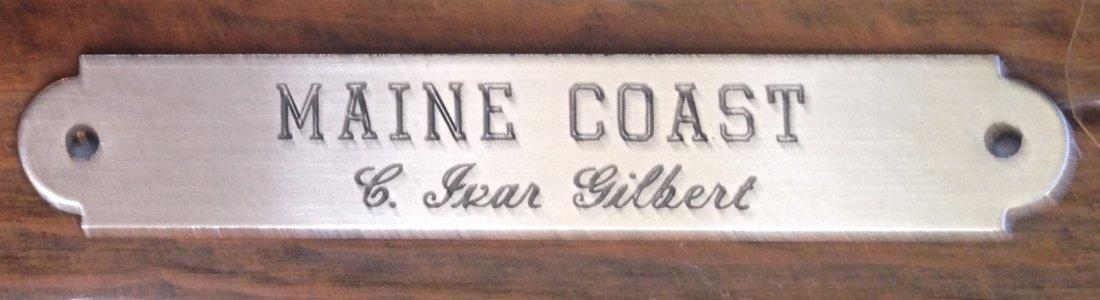 Carl Ivar Gilbert (American, b.1882-1958) Maine Coast - 4