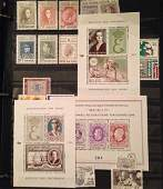 Collection Of International Mint Stamps 6 Albums