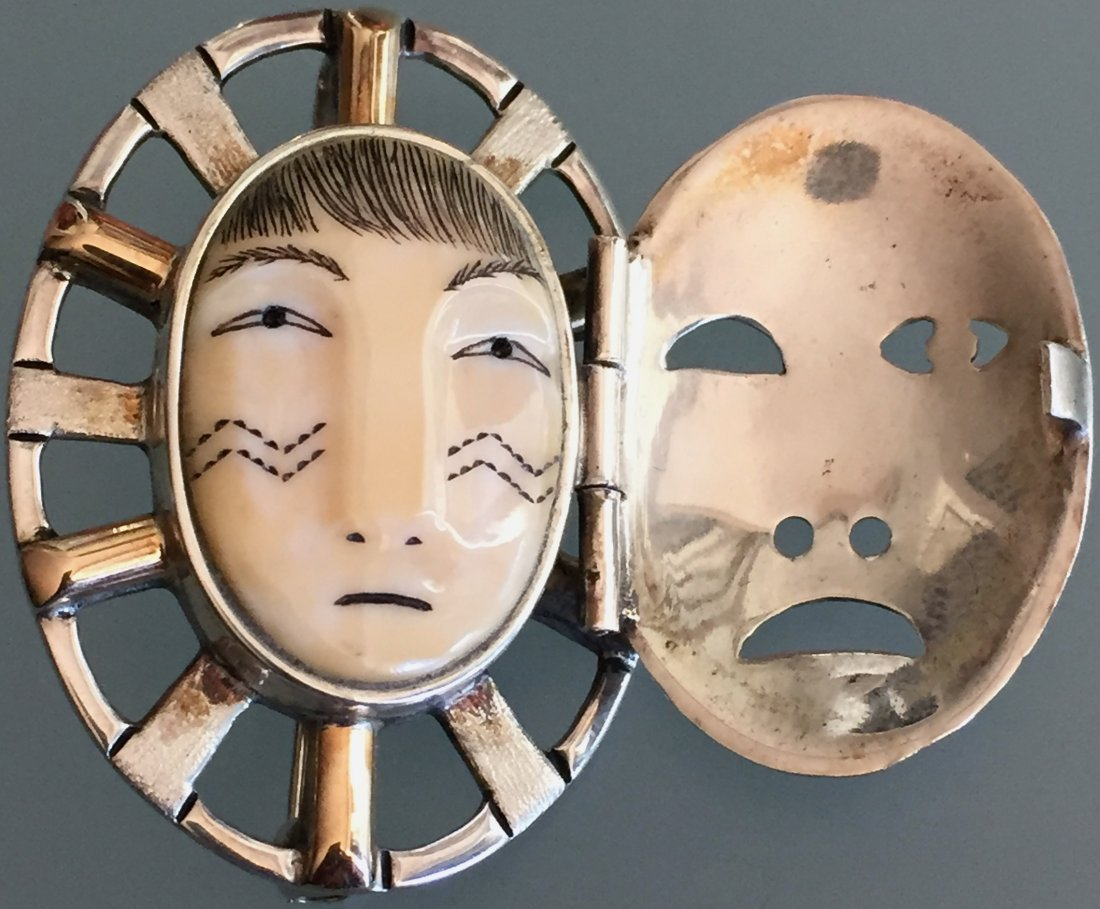 Denise Wallace, Pin/Pendant With Door