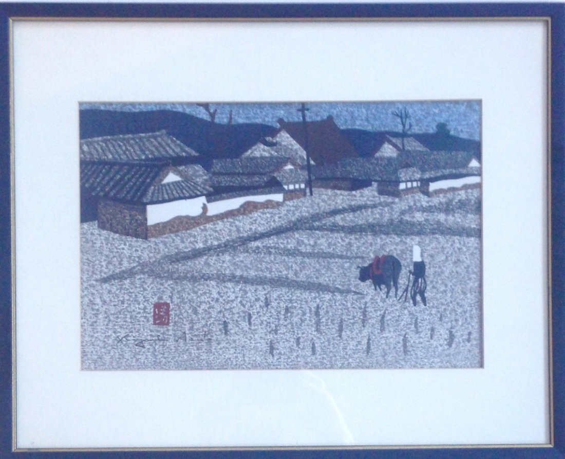 Kiyoshi Saito (1907-1997) Summer in Aizu