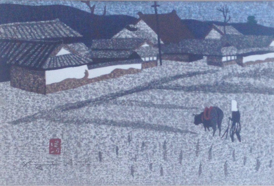 Kiyoshi Saito (1907-1997) Summer in Aizu - 2