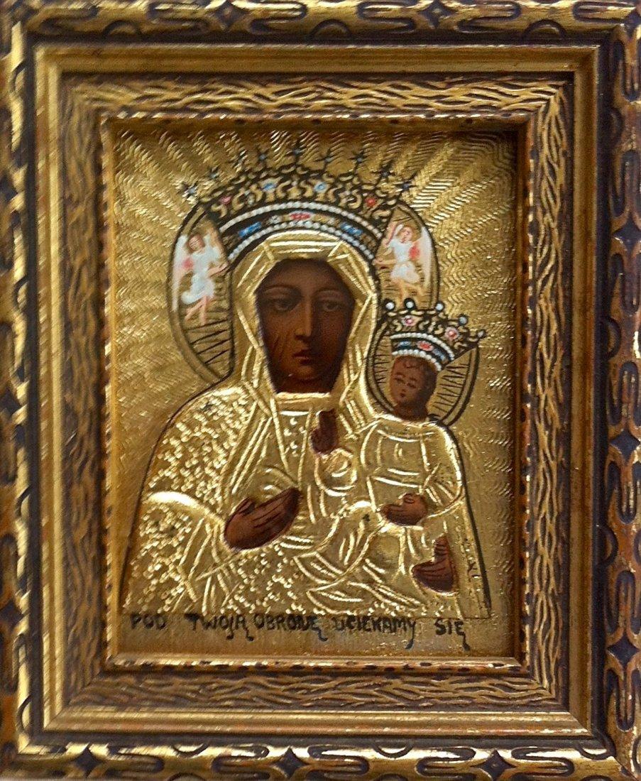 Black Madonna And Child Icon, Czestochowa