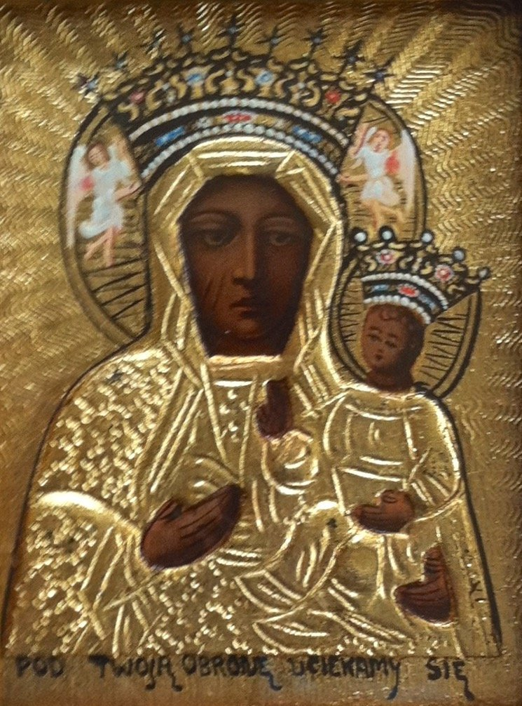 Black Madonna And Child Icon, Czestochowa - 2