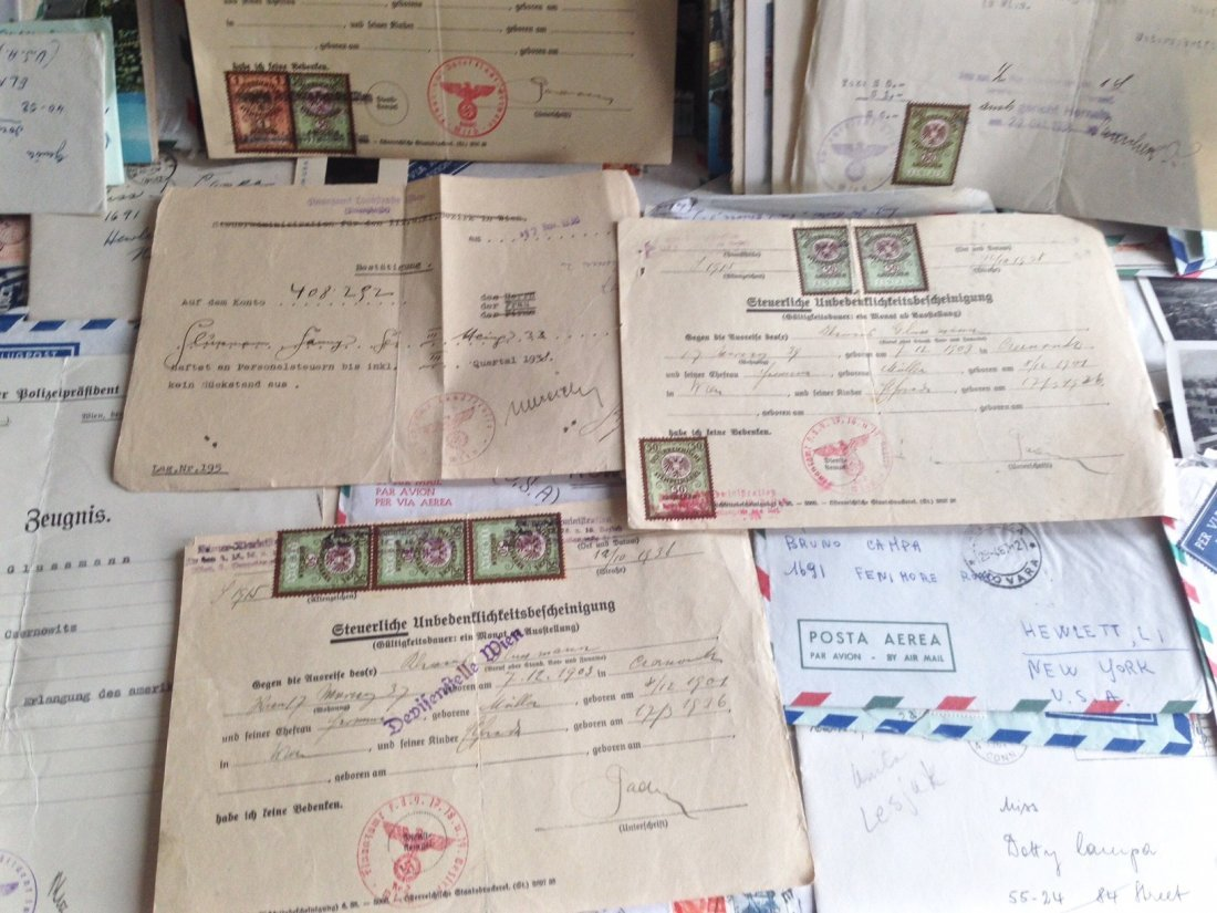 Collection of Postage & Letters Including Nazi Era - 3