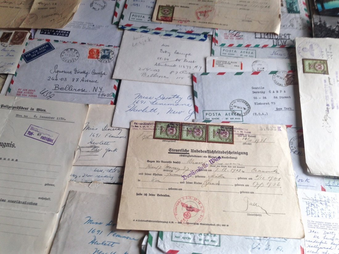 Collection of Postage & Letters Including Nazi Era - 4