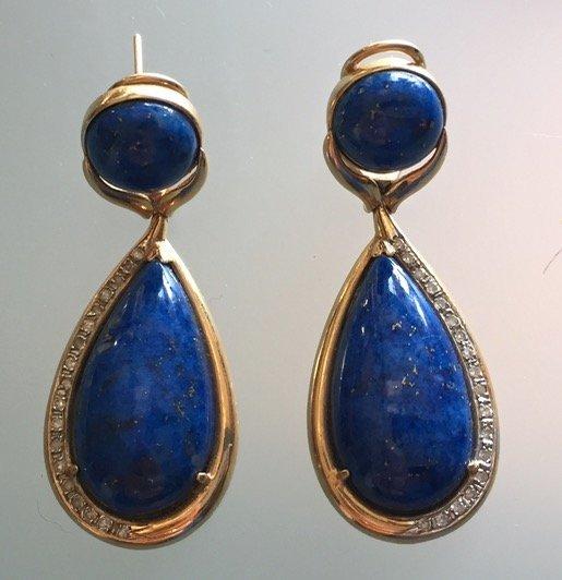 Gold, Lapis Lazuli, Diamonds & Pearls - 3