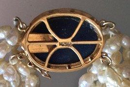 Gold, Lapis Lazuli, Diamonds & Pearls - 5