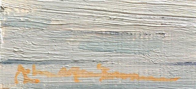 """John G. MacGowan Painting """"Newport Rhode Island"""" - 3"""