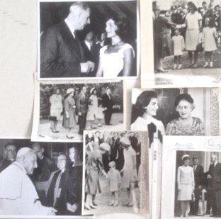 Kennedy Era Photographs, Jackie & World Leaders - 4