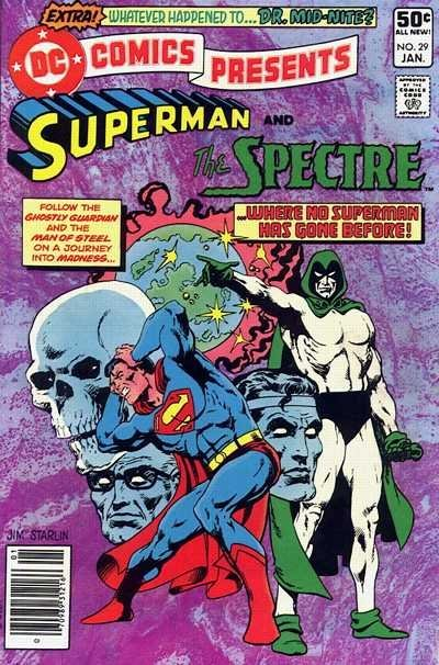 "Jim Starlin ""Superman Spectre"", Production Cover Art - 5"
